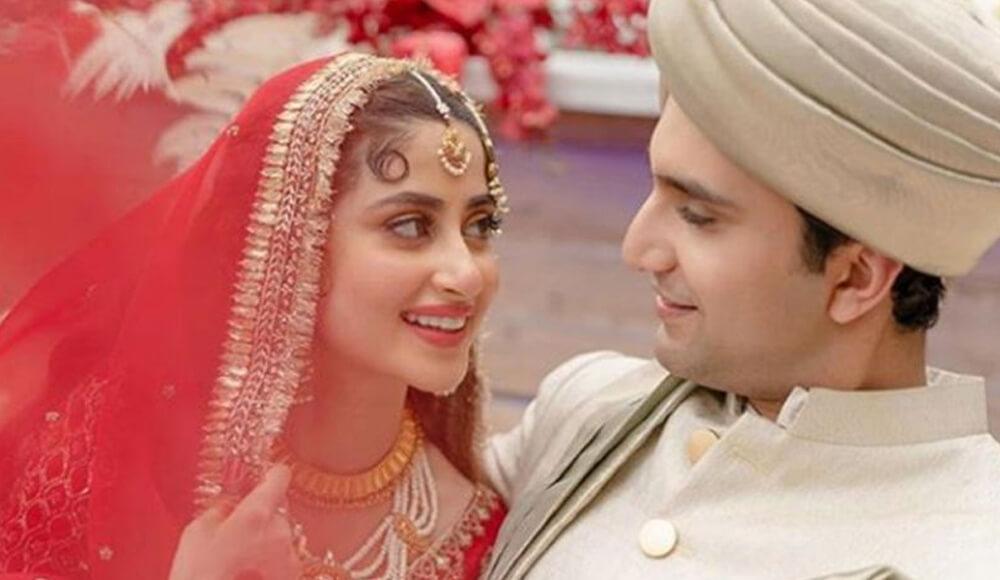 Inside the Abu Dhabi wedding of Pakistan's power couple Sajal Ali and Ahad Raza Mir