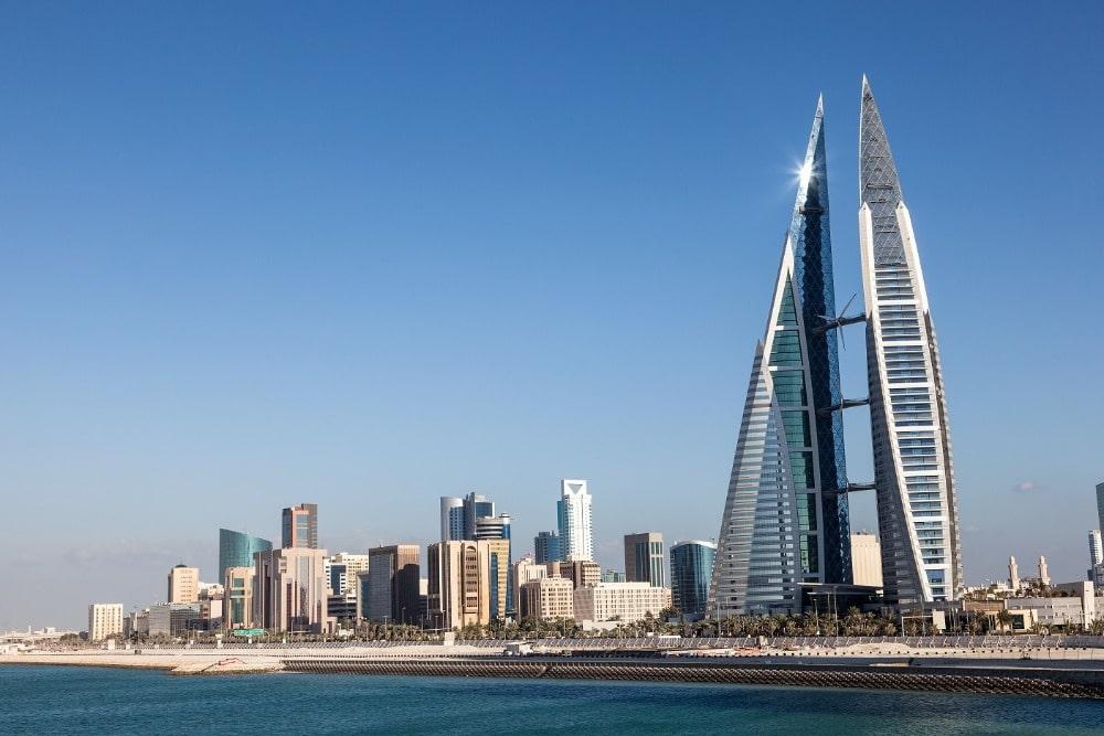 Manama Skyline - yugo.pk