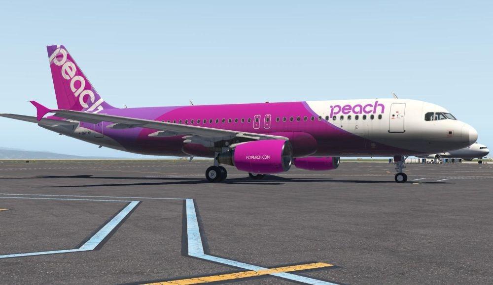 Peach Air Japan yugo.pk